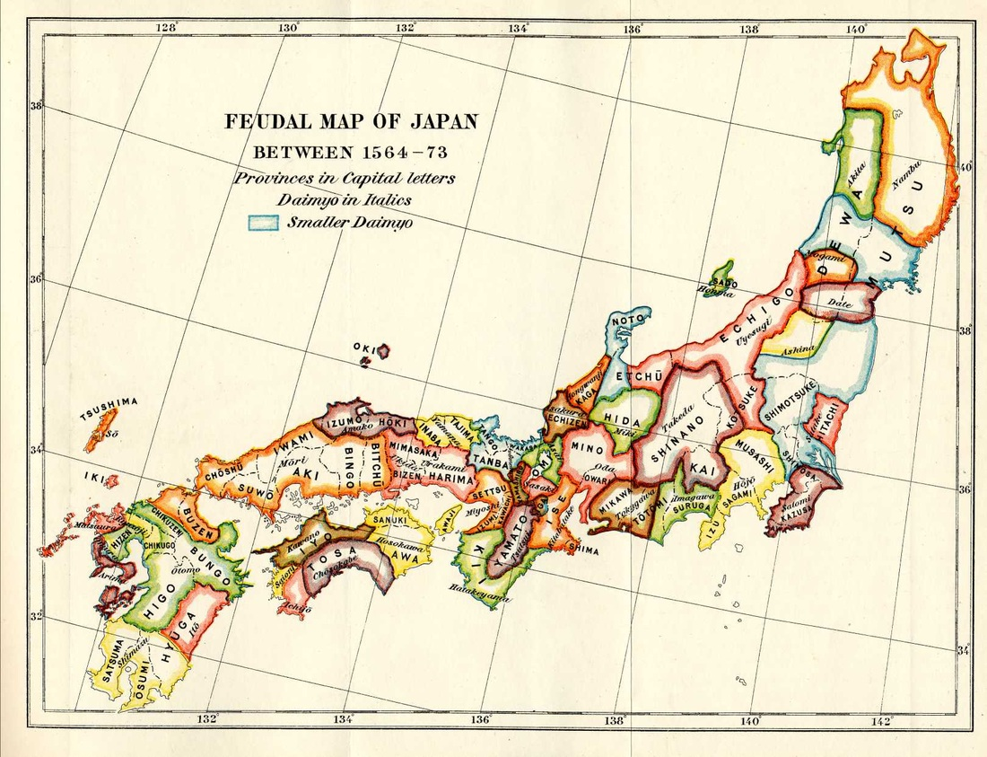 Facts Shogunate Japan - Japan map facts